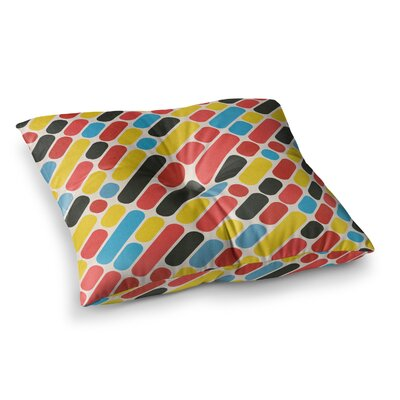 Tobe Fonseca Trend Pattern Digital Square Floor Pillow Size: 26 x 26
