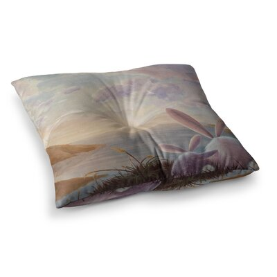 Rachel Kokko A New Perspective Square Floor Pillow Size: 26 x 26