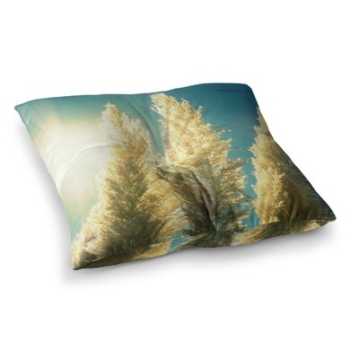 Robin Dickinson Ornamental Grass Square Floor Pillow Size: 26 x 26