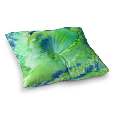 Rosie Brown Touch of Square Floor Pillow Size: 23 x 23