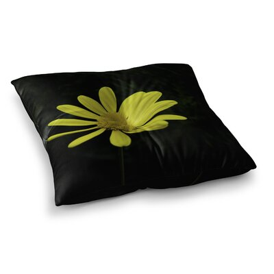 Nick Nareshni Petal Daisy Floral Photography Square Floor Pillow Size: 23 x 23