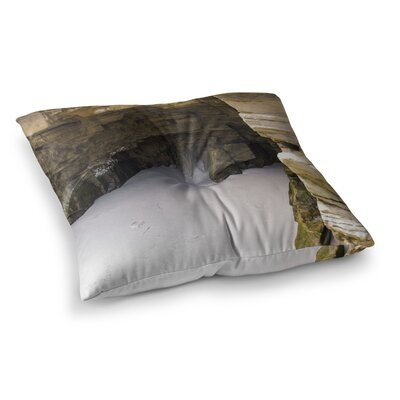 Nick Nareshni Sand and Stone Walls Square Floor Pillow Size: 26 x 26