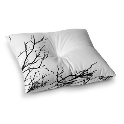 Skye Zambrana Winter Square Floor Pillow Size: 26 x 26