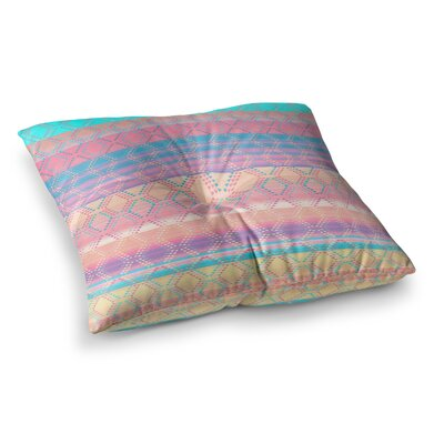 Nina May Denin and Diam New Mexico Pastel Square Floor Pillow Size: 26 x 26