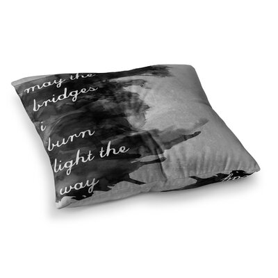 Skye Zambrana Bridges Square Floor Pillow Size: 26