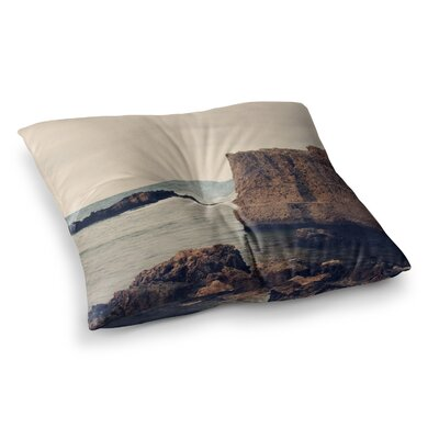 Sylvia Coomes Mediterranean l Square Floor Pillow Size: 23 x 23