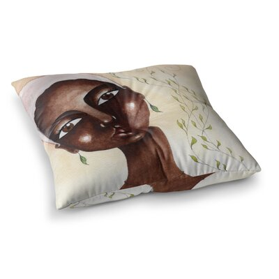 Stacey-Ann Cole Natures Beauty Painting Square Floor Pillow Size: 23 x 23