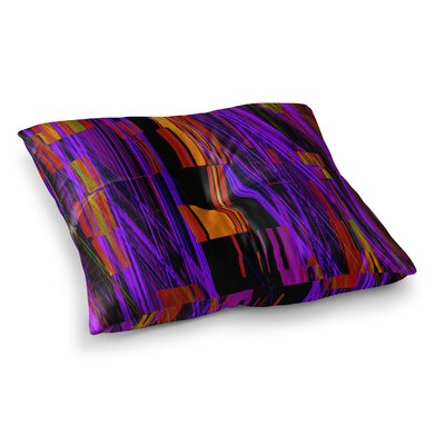 Nina May Threads Square Floor Pillow Size: 23 x 23