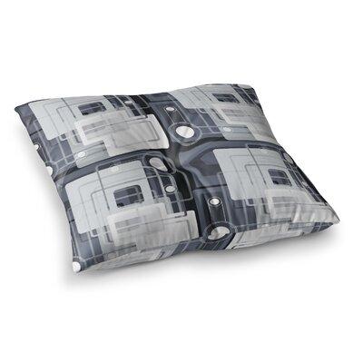 Suzanne Carter Art Deco Square Floor Pillow Size: 26 x 26