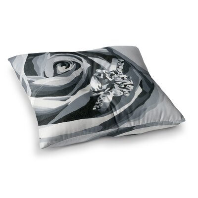 NL Designs Happy Engagement Square Floor Pillow Size: 23 x 23