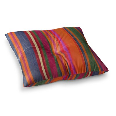 S Seema Z Line Art Square Floor Pillow Size: 23 x 23