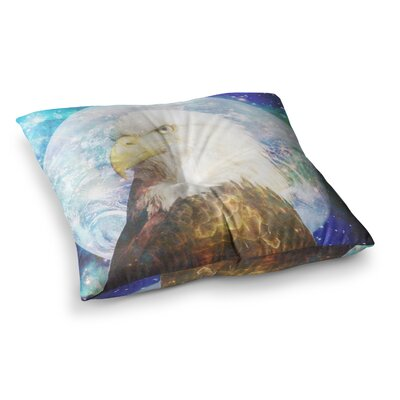 Suzanne Carter Space Cadet2 Square Floor Pillow Size: 23 x 23