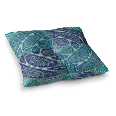 Nina May Mandala World Digital Square Floor Pillow Size: 26 x 26