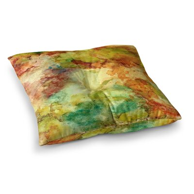 Rosie Brown Fall Bouqet Square Floor Pillow Size: 26 x 26