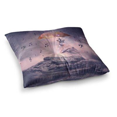 Suzanne Carter Down Pour Square Floor Pillow Size: 23 x 23