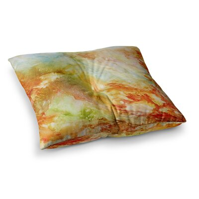 Rosie Brown Autumn Breeze Square Floor Pillow Size: 23 x 23
