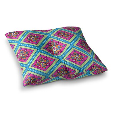 Sarah Oelerich Diamonds Square Floor Pillow Size: 23 x 23