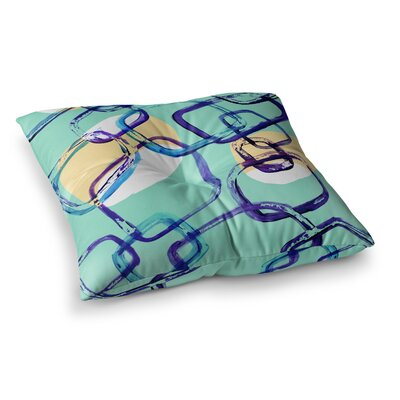 Theresa Giolzetti Sixties Exposure Square Floor Pillow Size: 26 x 26