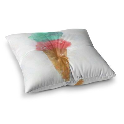 Oriana Cordero Candy Square Floor Pillow Size: 26 x 26