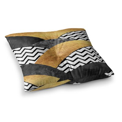 Zara Martina Mansen Chevron Hills Square Floor Pillow Size: 26 x 26