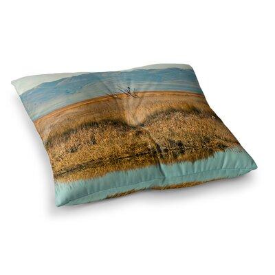 Sylvia Coomes Reflective Landscape Square Floor Pillow Size: 26 x 26