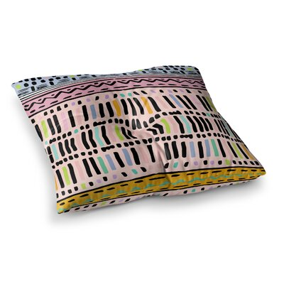 Vasare Nar Native Square Floor Pillow Size: 23 x 23