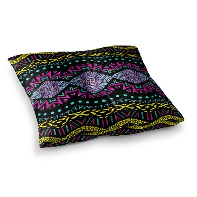 Pom Graphic Design Tribal Dominance Square Floor Pillow Size: 23 x 23