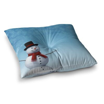 Snap Studio Feelin Frosty Square Floor Pillow Size: 23 x 23