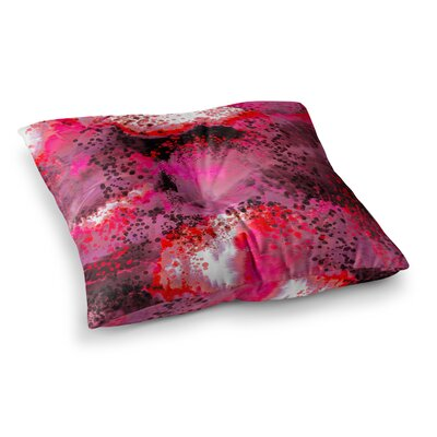 Nina May Fizz Digital Square Floor Pillow Size: 26 x 26