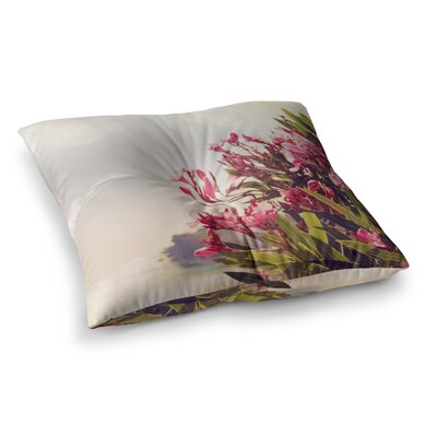 Sylvia Coomes Flowers in Paradise Square Floor Pillow Size: 26 x 26