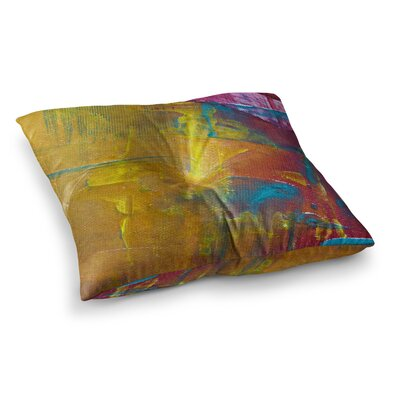 Malia Shields Cityscape Abstracts III Square Floor Pillow Size: 26 x 26