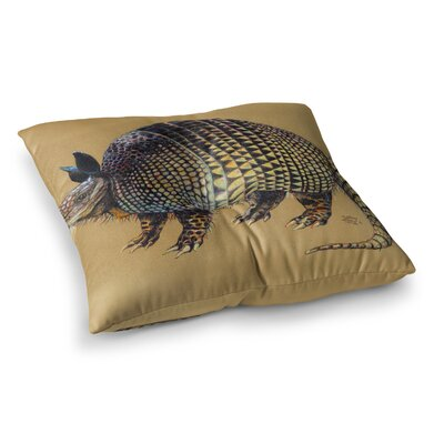 Sophy Tuttle Aramadilio Alebrija Square Floor Pillow Size: 23 x 23