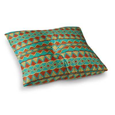 Pom Graphic Design Tribal Soul Square Floor Pillow Size: 26 x 26