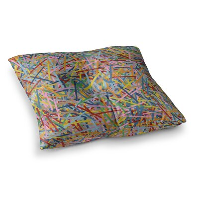Project M More Sprinkles Square Floor Pillow Size: 26 x 26