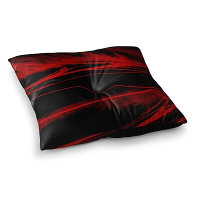 Steve Dix in the Detail Square Floor Pillow Size: 26 x 26
