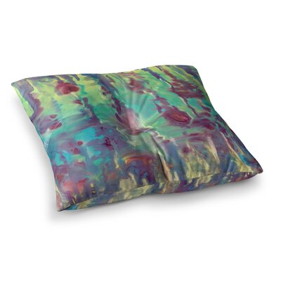 Rosie Brown Splash Square Floor Pillow Size: 26 x 26