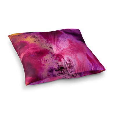 Nina May Salten Sea Square Floor Pillow Size: 23 x 23, Color: Pink