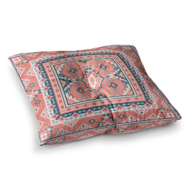 Nandita Singh Dreamy Aztec Digital Square Floor Pillow Size: 23 x 23