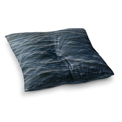Suzanne Carter Deep Water Nautical Square Floor Pillow Size: 23 x 23