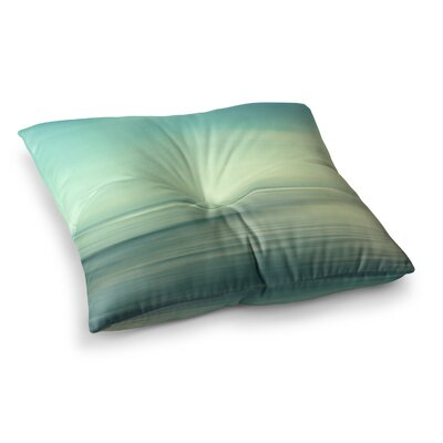 Sylvia Cook Beach Square Floor Pillow Size: 23 x 23