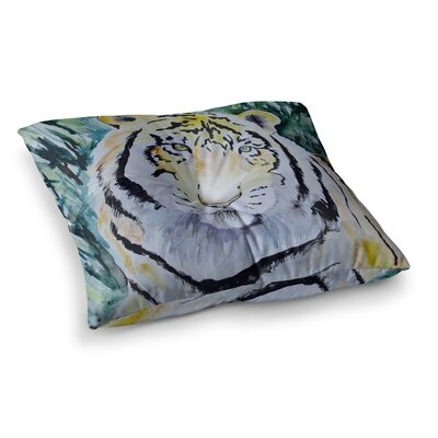 Padgett Mason Tiger Square Floor Pillow Size: 23 x 23