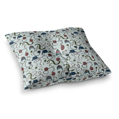 Stephanie Vaeth Warm & Cozy Illustration Square Floor Pillow Size: 26 x 26