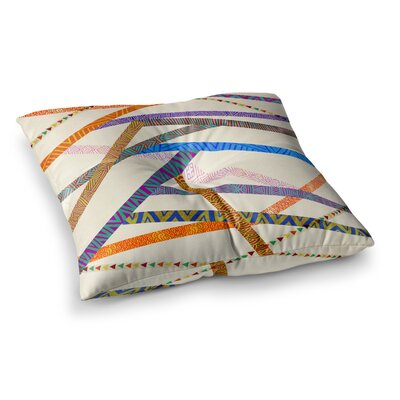 Pom Graphic Design Unparalleled Square Floor Pillow Size: 23 x 23