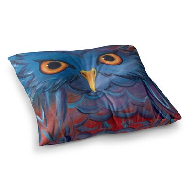 Padgett Mason Hoot Square Floor Pillow Size: 26 x 26