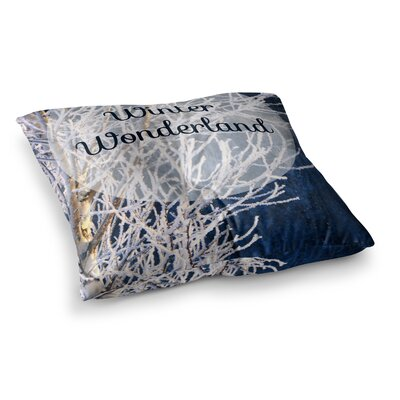 NL Designs Winter Wonderland Square Floor Pillow Size: 23 x 23