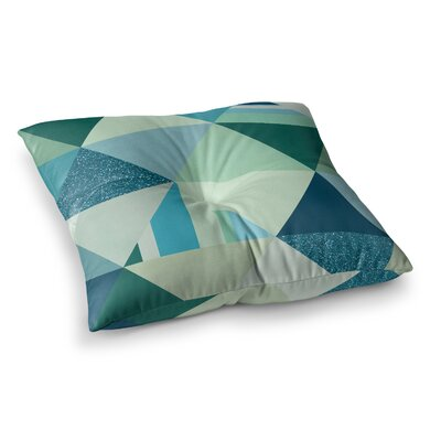 Noonday Design the Triangle s Geometric Square Floor Pillow Size: 26 x 26