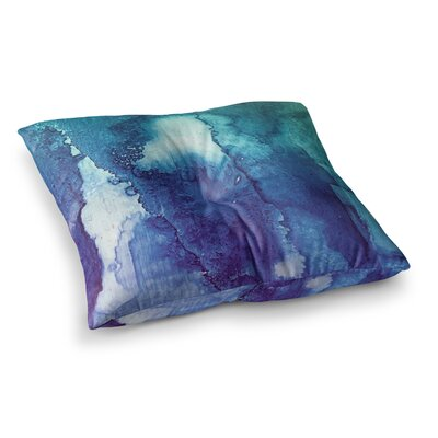 Malia Shields Abstract Series 1 Square Floor Pillow Size: 23 x 23