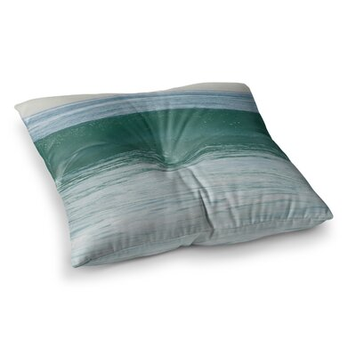 Nick Nareshni The Lone Wave Square Floor Pillow Size: 23 x 23