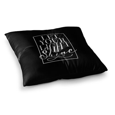 Trebam Kos Diagonal Square Floor Pillow Size: 23 x 23