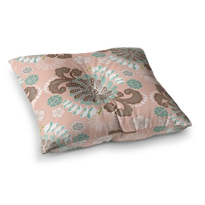 Very Sarie Sea Carnival Square Floor Pillow Size: 26 x 26